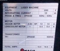 Laser 2D AMADA LCV 6612 II 1991-Zdjęcie 7
