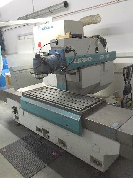 CNC Milling Machine AUERBACH FBE 1200 1993