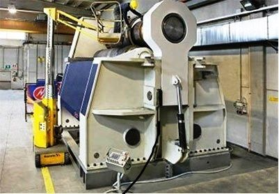 3 Roll Plate Bending Machine MG italy 3100 mm x 140 mm 3160V 2016
