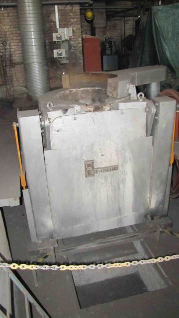 Piec do przetopu Furnace Inductotherm (USA) 10 PT MMGR VIP 2006