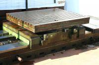 Horizontal Boring Machine Tavola Girevole 40 T.- Tras. 3.550 - Asse B 40 Ton.