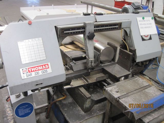 Przecinarka taśmowa THOMAS SAR 330 GDS 2001