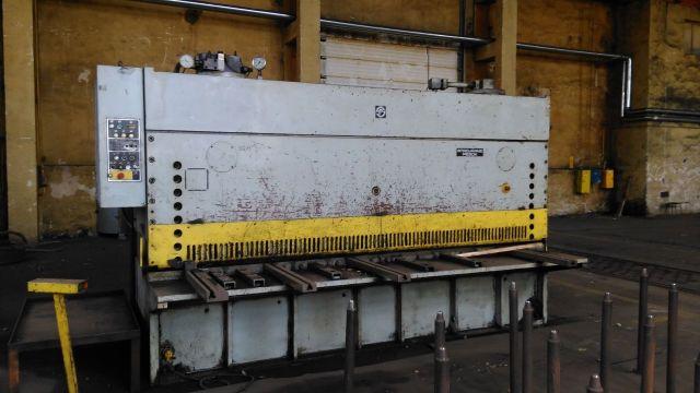 Nożyce gilotynowe hydrauliczne PIESOK CNTA 3150/16A 1990