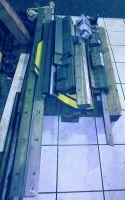 Schwenkbiegemaschine CNC HERA SH  4 / 2000 x 6 1994-Bild 4