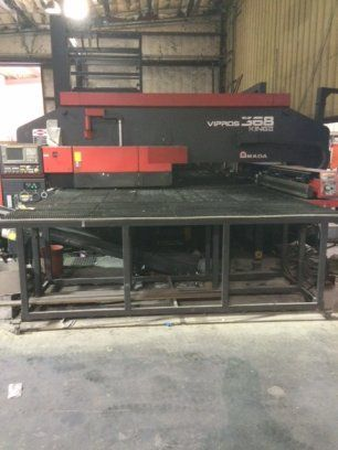 Turret Punching Machine with Laser AMADA VIPROS 368 KING II 1999
