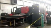 Turret Punching Machine with Laser AMADA APELIO III 367V 2001-Photo 2