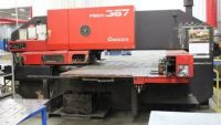 Turret Punching Machine with Laser AMADA PEGA 367 1990-Photo 3