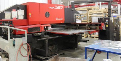Turret Punching Machine with Laser AMADA PEGA 367 1990