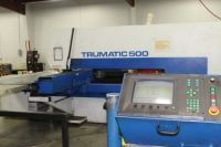 Turret Punching Machine with Laser TRUMPF TC500R-1600 1994-Photo 2