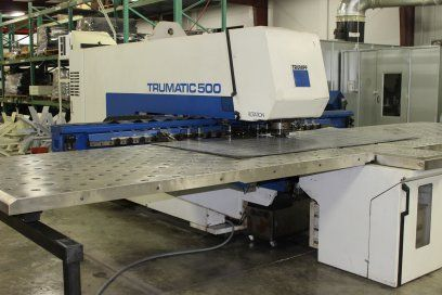 Turret Punching Machine with Laser TRUMPF TC500R-1600 1994