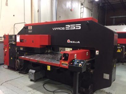 Turret Punching Machine with Laser AMADA VIPROS 255 2001