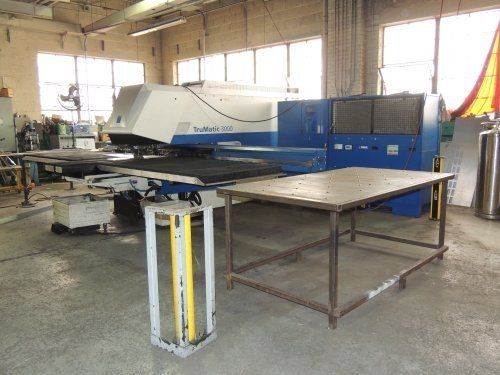 Turret Punching Machine with Laser TRUMPF TRUMATIC TC3000L 2008