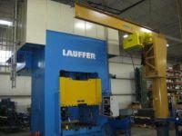 CNC 유압 프레스 브레이크 LAUFFER RZX-1200