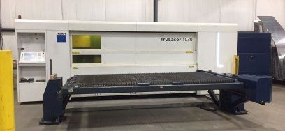 2D Laser TRUMPF 1030 FIBER 2012