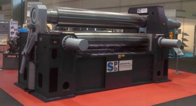 3 Roll Plate Bending Machine SERTOM DEA 3R 30-40 2017