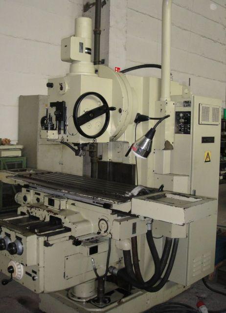 Vertikal Fräsmaschine HECKERT FSS 315/E 1988