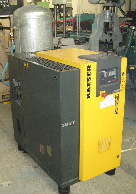 Schraubenkompressor KAESER SM 9T 2006