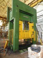 Prasa hydrauliczna bramowa Litostroj HVO-2-630 1989-Zdjęcie 2