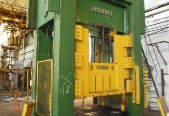 Prasa hydrauliczna bramowa Litostroj HVO-2-630 1989