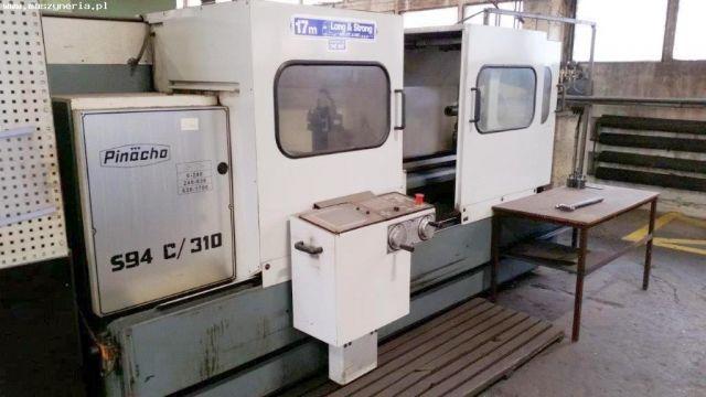 CNC数控车床 PINACHO S94 C/310 CNC LATHE 1990