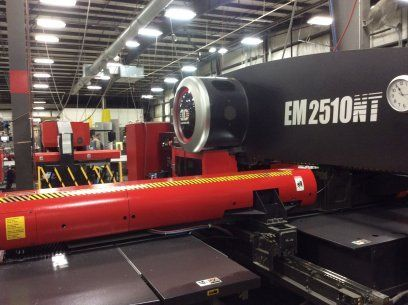 Turret Punch Press AMADA EM 2510NT 2004