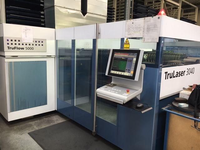 Laserschneide 2D TRUMPF TruLaser 3040 (L32) 2012