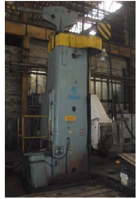 Horizontal Boring Machine ŠKODA WD 160 1968
