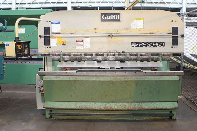 Hydraulic Press Brake GUIFIL PE-30-100 1991