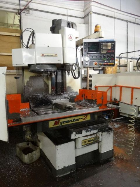 CNC Vertical Machining Center KITAMURA Mycenter-2 1995