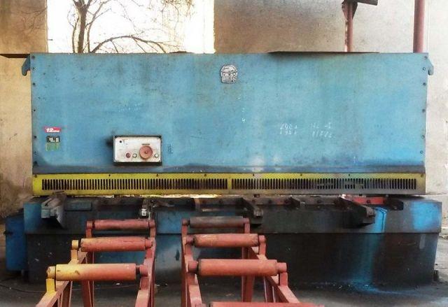 Nożyce gilotynowe hydrauliczne DIGEP DLB- 12/3050M 1985