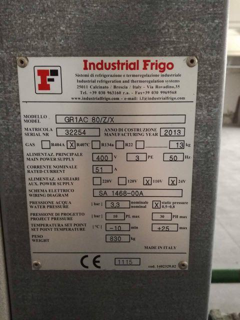 Wtryskarka do tworzyw INDUSTRIAL FRIGO GR1AC 2013