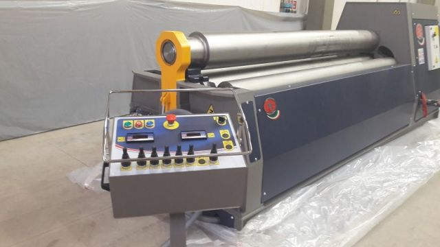 4 Roll Plate Bending Machine MG srl MH3015 2016