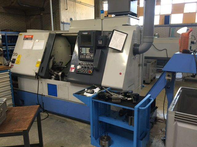 CNC draaibank MAZAK Super Quick Turn 200 MS 1999