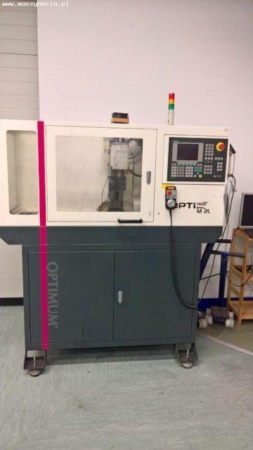 CNC Milling Machine OPTIMUM M2 L CNC 2013