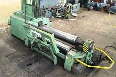 4 Roll Plate Bending Machine FACCIN 4HCL x 48/40 1993