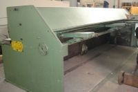 NC Hydraulic Guillotine Shear HERA HSS 3 1980-Photo 4