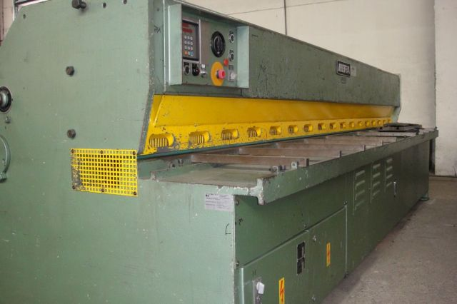 NC hydraulische guillotineschaar HERA HSS 3 1980
