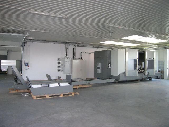 Centrum frezarskie pionowe CNC DMG DMF 250 LINEAR 2009