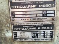 Prasa krawędziowa hydrauliczna STROJARNE PIESOK CTO 160 1989-Zdjęcie 2