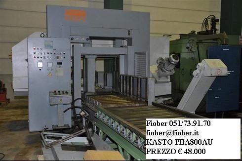 Przecinarka taśmowa KASTO PBA 800 AU 1995