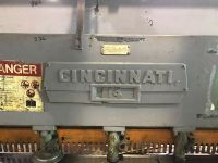 Mechanical Guillotine Shear CINCINNATI 10 x 3/16 (OWNER/SELLER)