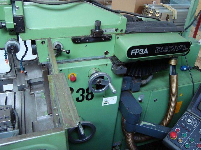 Toolroom Milling Machine DECKEL FP 3 A 1987
