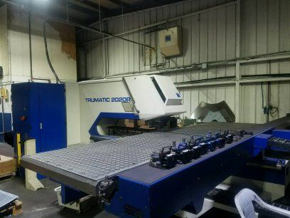 Turret Punch Press TRUMPF TC2020R BOSCH 2004
