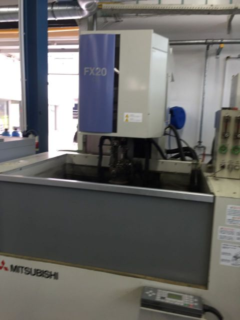 Wire elektrische ontlading machine MITSUBISHI FX 20 1998