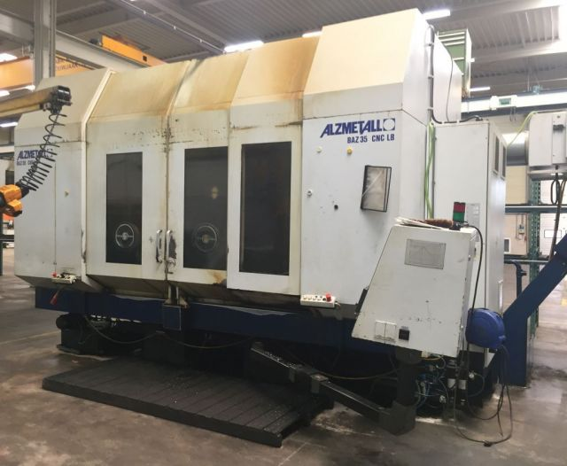 CNC Vertical Machining Center ALZMETALL BAZ 35 CNC LB 1999