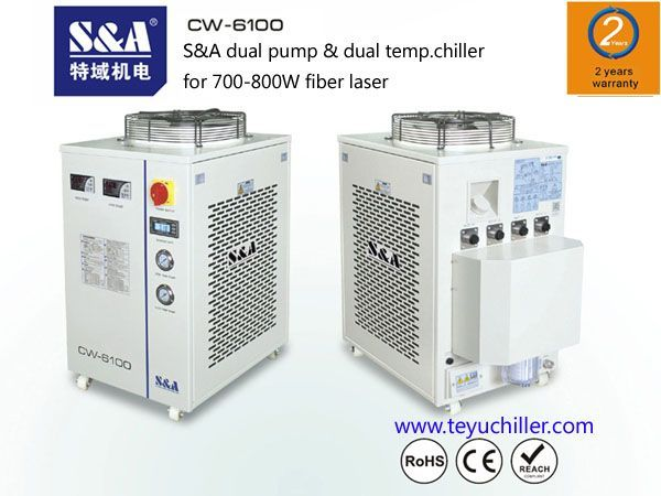 CNC raskaiden sorvi Teyu CW-6100A 2017