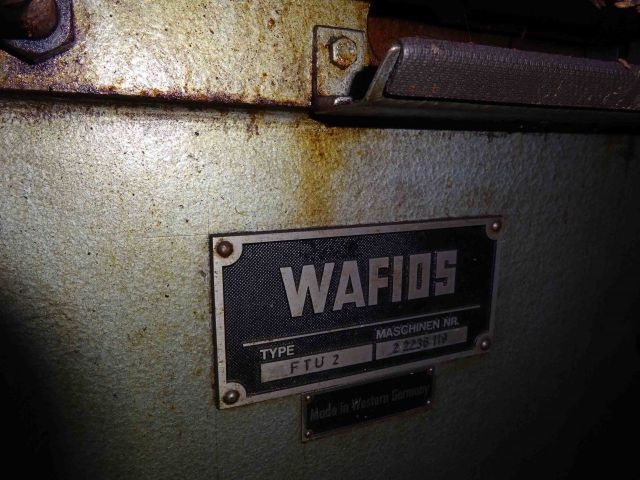 Sheet Metal Profiling Line WAFIOS FTU 2 1985