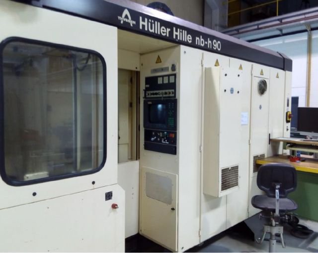 CNC Horizontal Machining Center HUELLER HILLE NB-H 90 1989