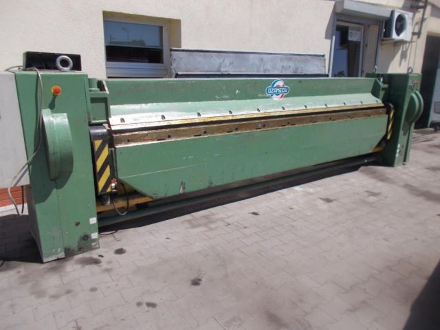 Folding Machines for sheet metal OZAMECH KM 2,5/4000 2008