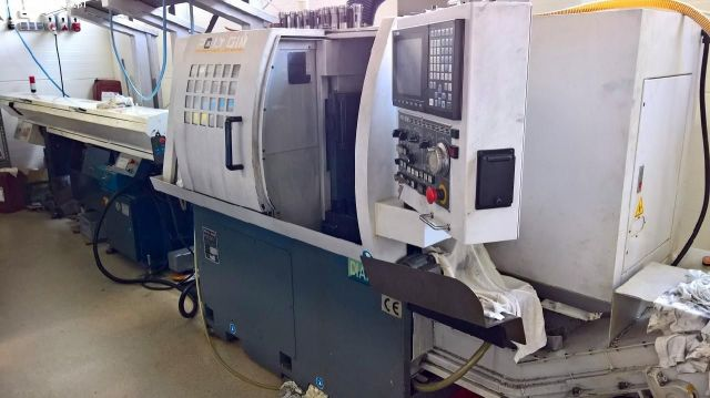 CNC Automatic Lathe POLYGIM DIAMOND 32 CSB SWISS TYPE 2008